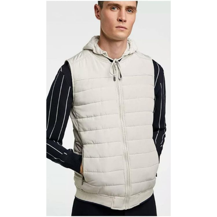 ZR Puffer Jacket Off White