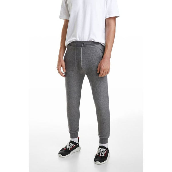 ZR Plain Jogger Pants Metallic Grey