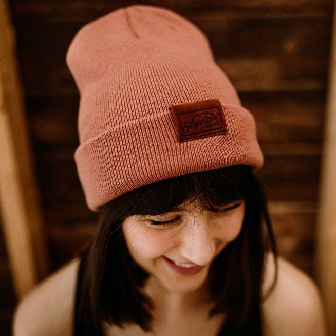The Billy | Blush Mountain Girl Toque