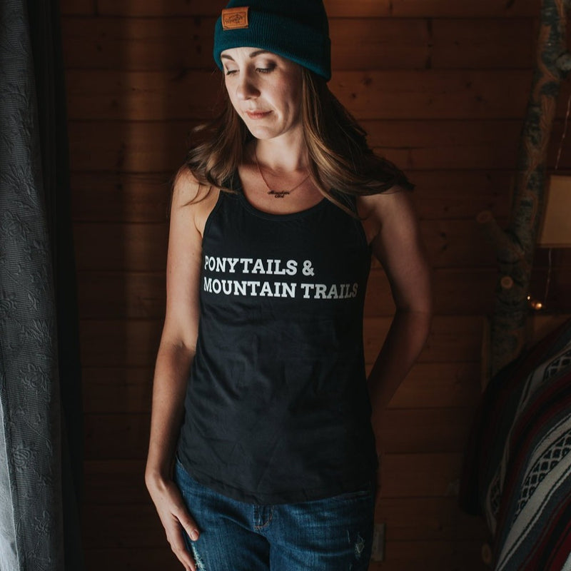 PonyTails & Mountain Trails Tank Top