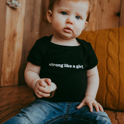Strong Like a Girl Bodysuit