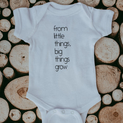 From Little Things, Big Things Grow Bodysuit