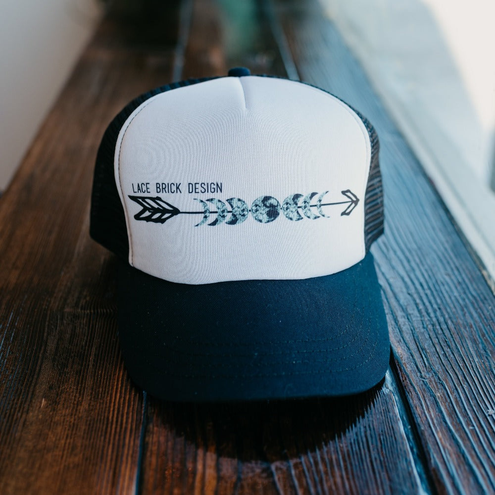 Official Lace Brick Design Trucker Hat