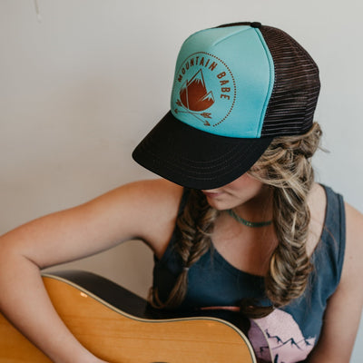 Mountain Babe Trucker Hat