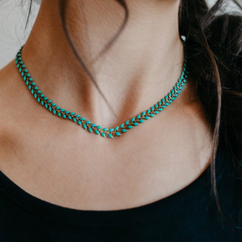 Fishtail Necklace