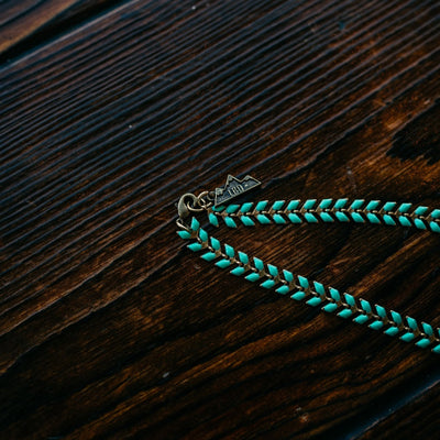 Turquoise Fishtail Necklace