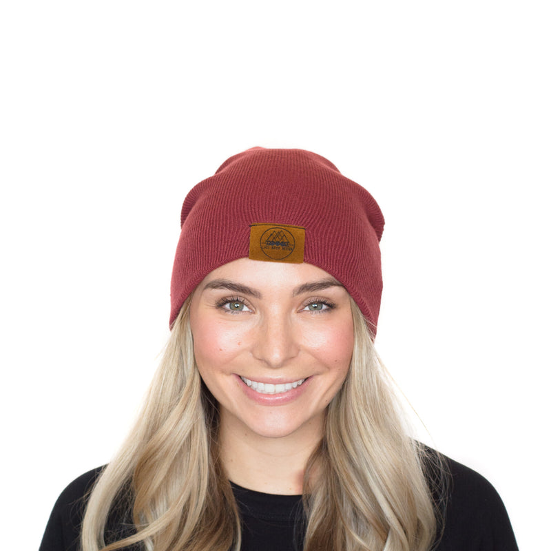 The Murray | Mauve Mountain Girl Toque