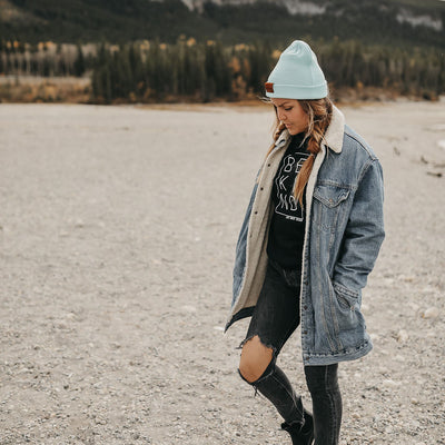 The Maxwell | Icy Mint Mountain Girl Toque