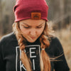 The Ike | Indigo Mountain Girl Toque