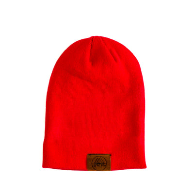 The Bradley | Bright Red Mountain Girl Toque
