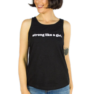 Strong Like a Girl Tank Top