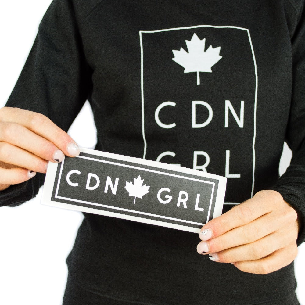 Canadian GRL Sticker