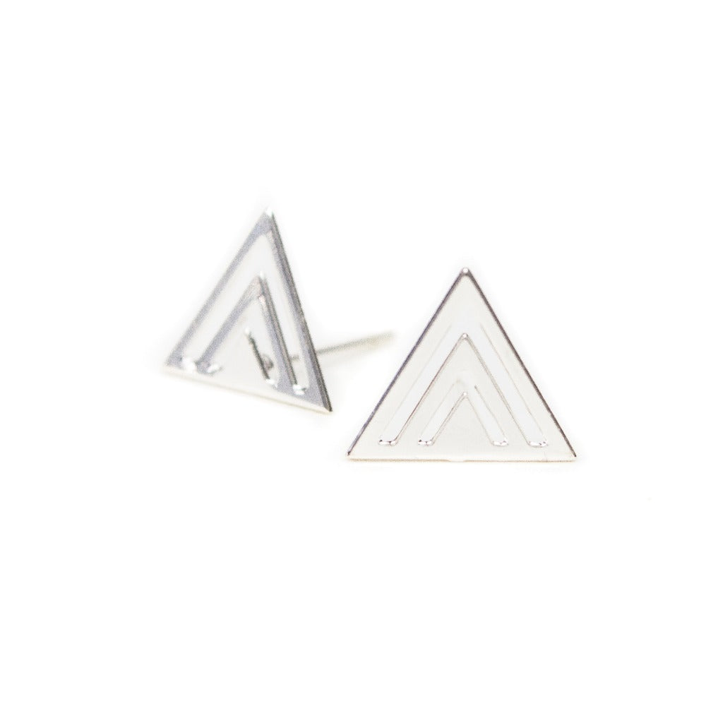 Geo Mountain Earrings