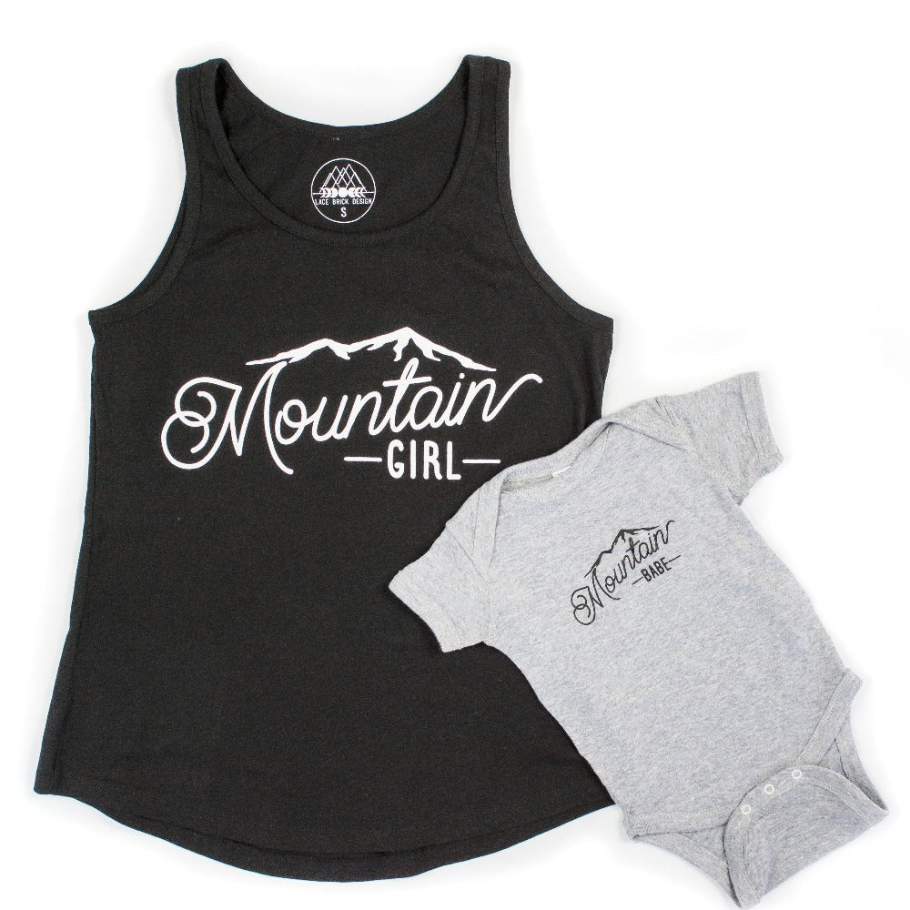 Mountain Girl Tank + Mountain Babe Bodysuit