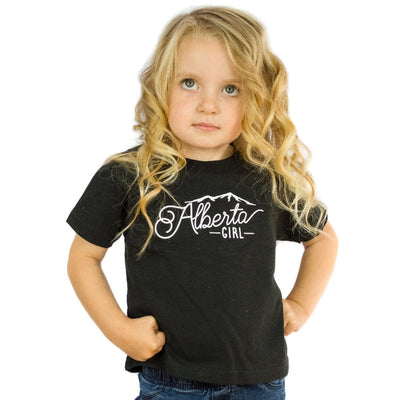 Alberta Girl Adult Crew + Toddler T-Shirt