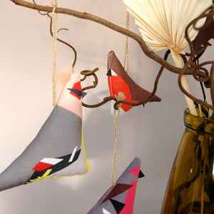 Waxwing Hanging Decoration