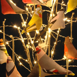 '12 Birds of Christmas' Tree Ornaments - Individual