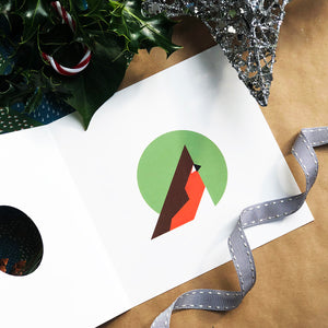 Robin Christmas Card Inside
