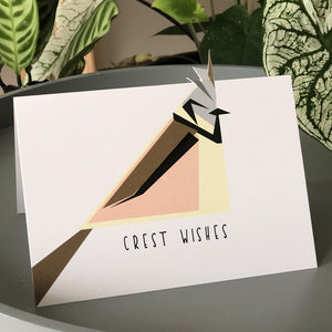 Crest Wishes Card