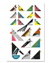Load image into Gallery viewer, Garden Birds Tea Towel
