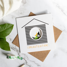 Load image into Gallery viewer, Birdhouse Card - Congratulations -Hatchling