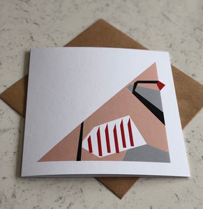 Square Card - Partridge