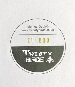 Square Card - Cuckoo