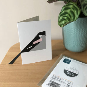 'Sticky-Out' Card - Long-Tailed Tit