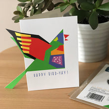 Load image into Gallery viewer, Rainbow Lorikeet Card