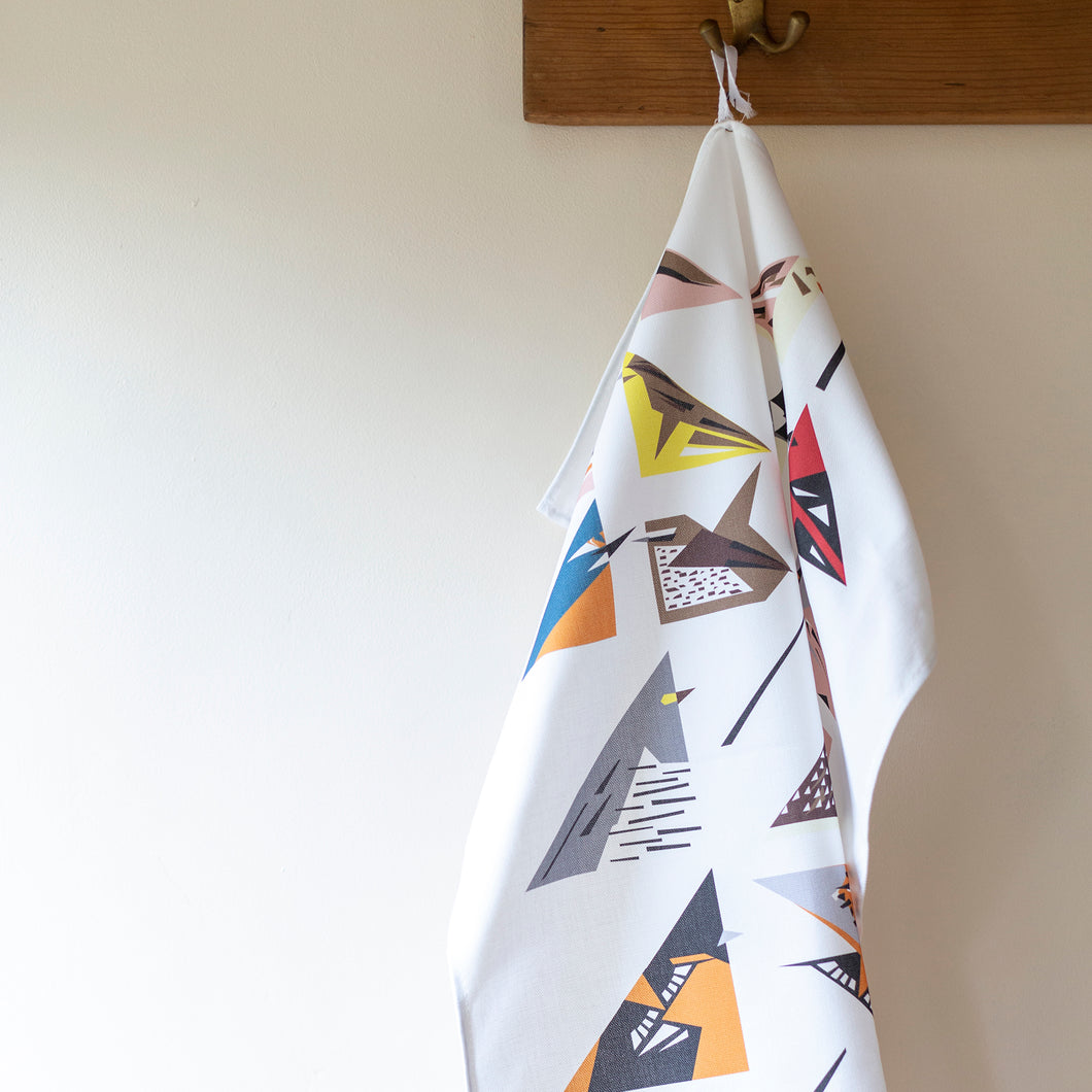 Birds Tea Towel - Unusual