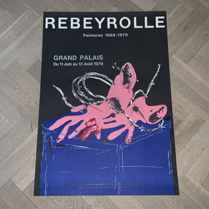 Paul Rebeyrolle - Grand Palais (54x76)