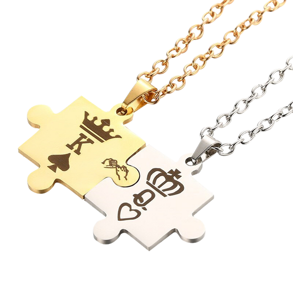 K&Q Couple Necklace