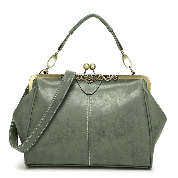 Smooth Luxury Leather Handbag