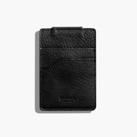 Shinola Detroit  Magnetic Money Clip Card Wallet