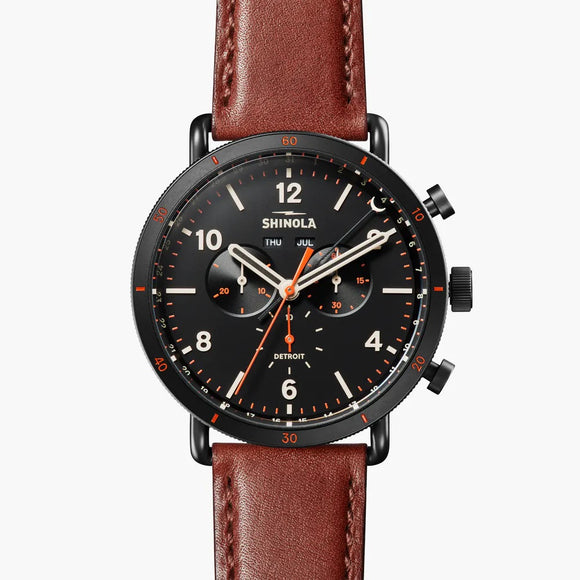 Shinola Detroit Canfield Sport 45mm