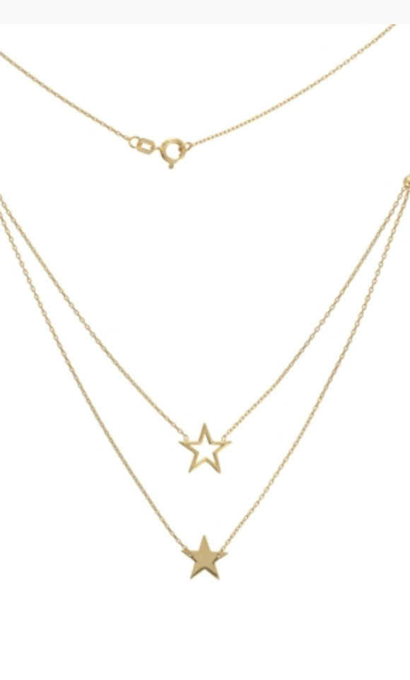 Pre-layered Star Necklace