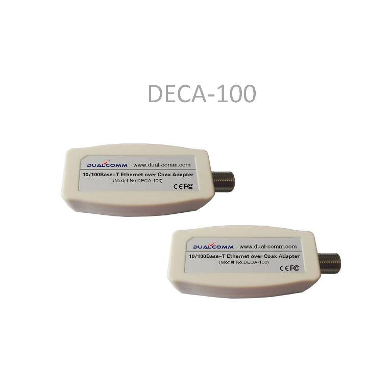 Image of DECA-100 Etherent-over-Coax Adapter Kit