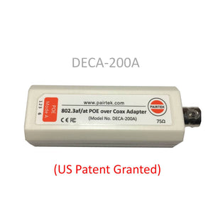 DECA-200A POE-over-Coax EOC Adapter