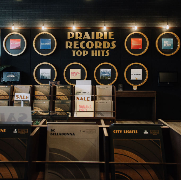 Prairie Records Selected for Manitoba Cannabis Store Licence