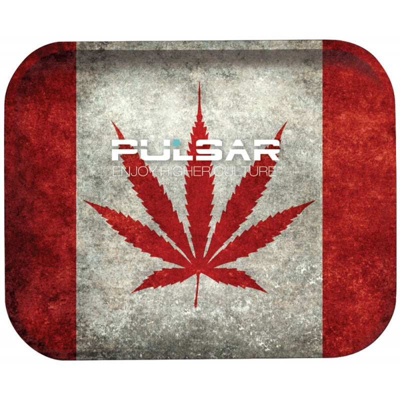 Pulsar - Cannabian Flag Tin Rolling Tray Group