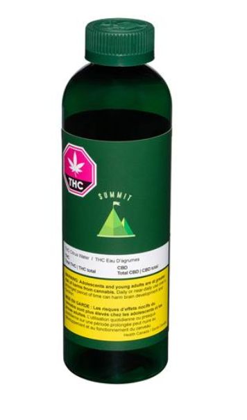 Summit - THC Citrus Water