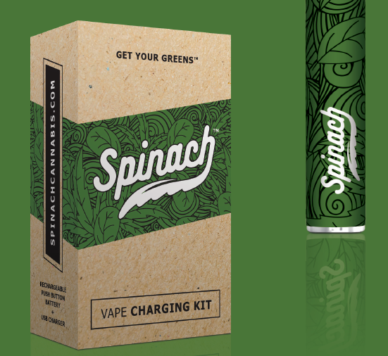 Spinach - Vape Battery