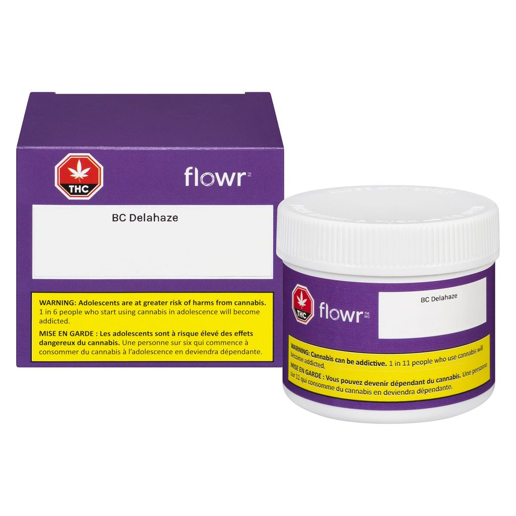 Flowr - BC Delahaze Dried Flower 3.5g