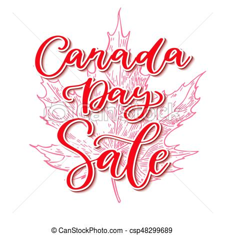 Canada Day Sale
