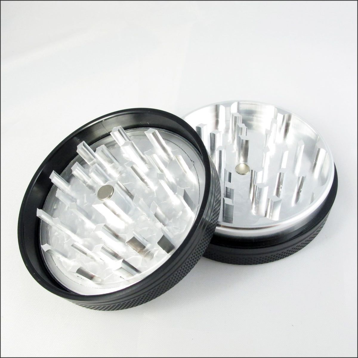 "Sharpstone - 2.2"" 2 Piece Grinder Black"