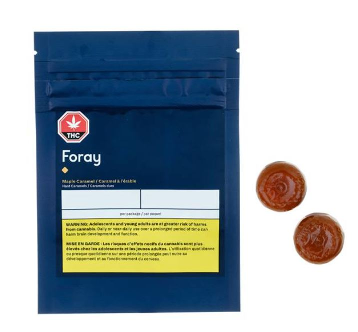 Foray - Maple Caramel Hard Candy