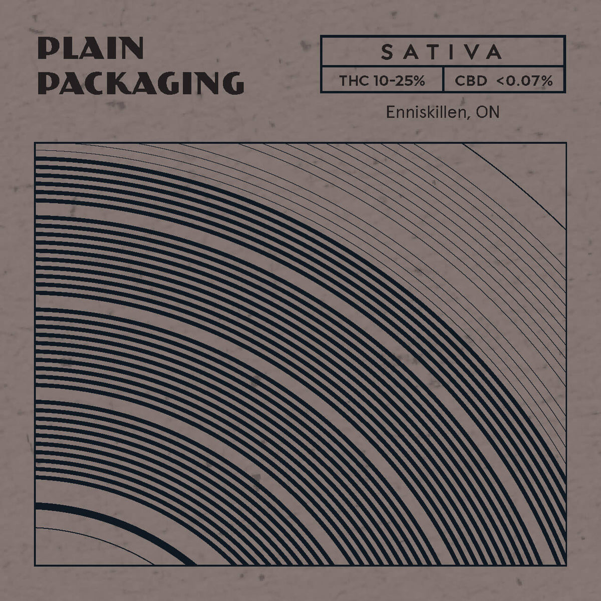 Plain Packaging - Sativa