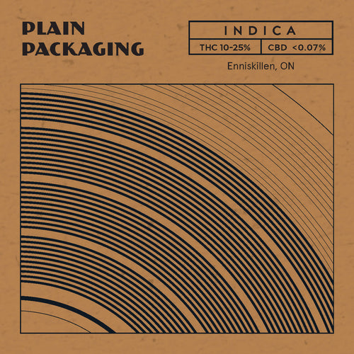 Plain Packaging - Indica