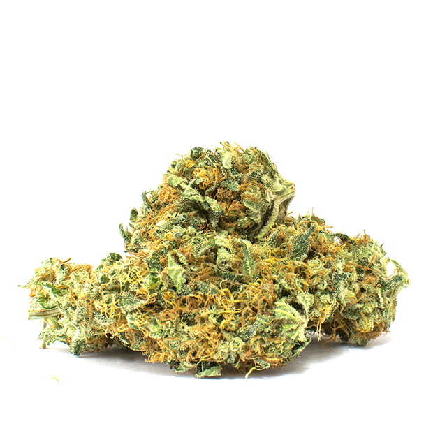 The child of the OG Kush and West Coast Dawg strains, Bubba Kush is a favorite among Indica lovers. Bubba's sweet tones are accompanied by the classic 'kush' pungency. You will find yourself feeling deeply relaxed and euphoric as you spend a nice evening in with Bubba. THC 15-20% CBD 0-1%