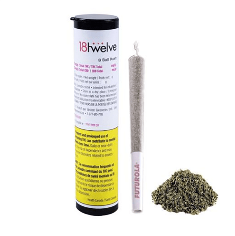 18twelve - 8 Ball Kush Pre-Roll